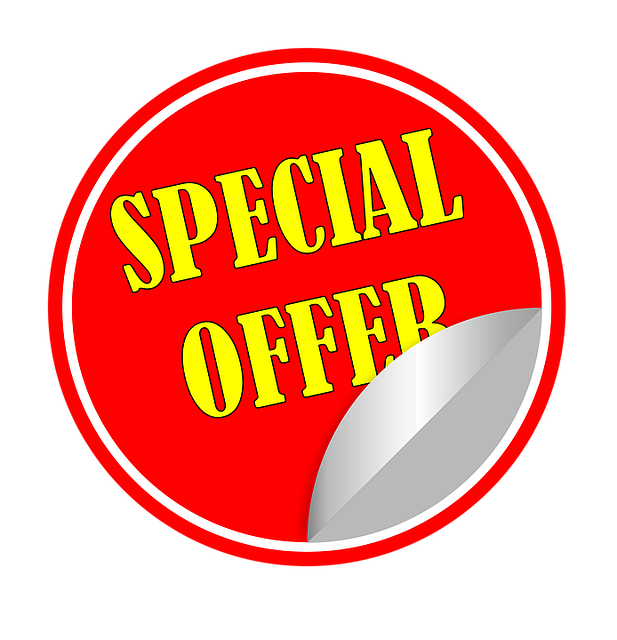 special offer on Chinese food